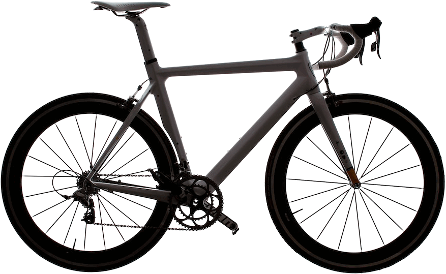 road bike side view